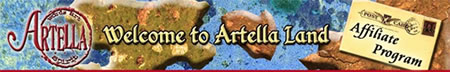 Artella Affiliate Program Logo